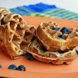 Photo of yummy waffle