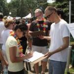 Eli at Pride Festival